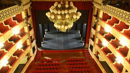 Classe in teatro