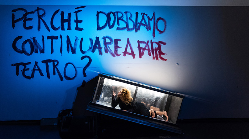 La mostra Edipo: io contagio a Palazzo Ducale ph Matilde Pisani