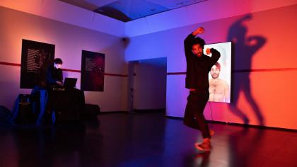 Bienoise live performance @Edipo: io contagio